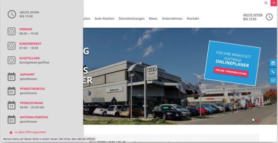 Erweiterte Website - Autorama AG Wetzikon 3