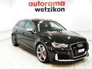 AUDI RS3 2.5 TSI quattro S-tronic - Autorama AG Wetzikon