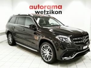MERCEDES-BENZ GLS 63 AMG 4Matic Speedshift Plus 7G-Tronic - Autorama AG Wetzikon